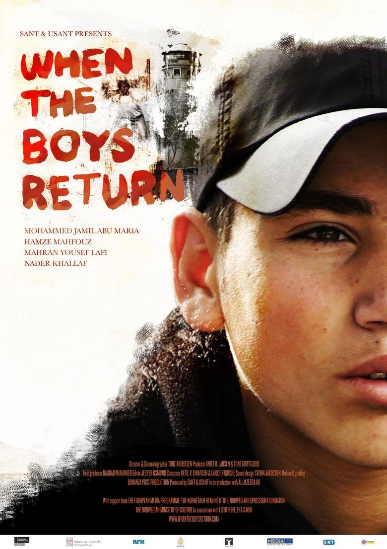 When the Boys Return Poster