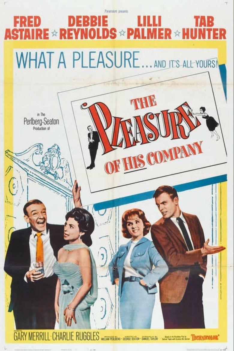 The Pleasure of His Company Poster