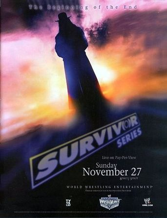 WWE Survivor Series 2005 Poster