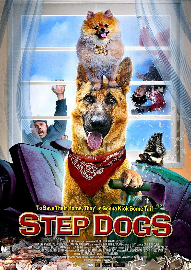 Step Dogs Poster