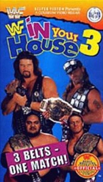 WWE In Your House 3: Triple Header Poster