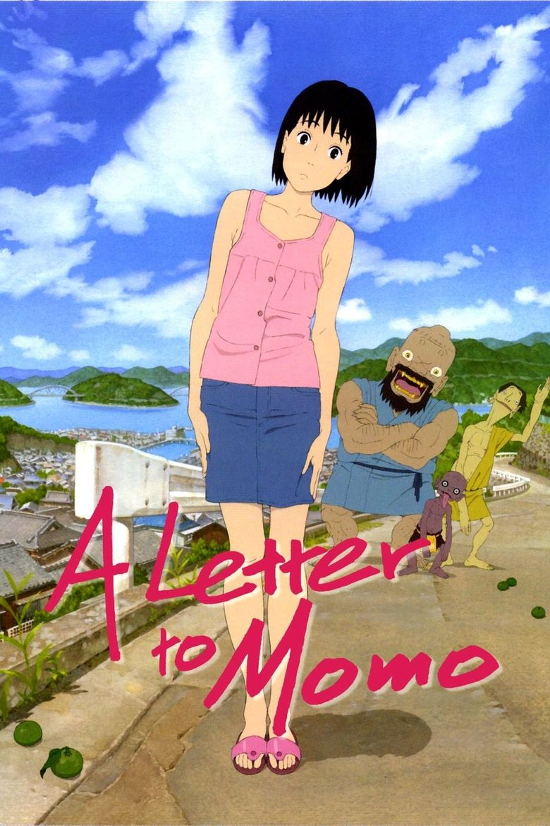 A Letter to Momo Poster