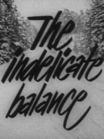 The Indelicate Balance Poster