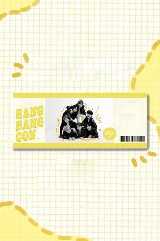Bang Bang Con The Live Poster