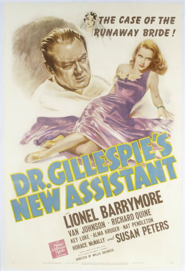 Dr. Gillespie's New Assistant Poster