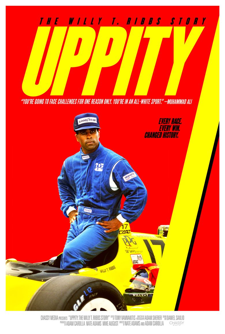 Uppity: The Willy T. Ribbs Story Poster