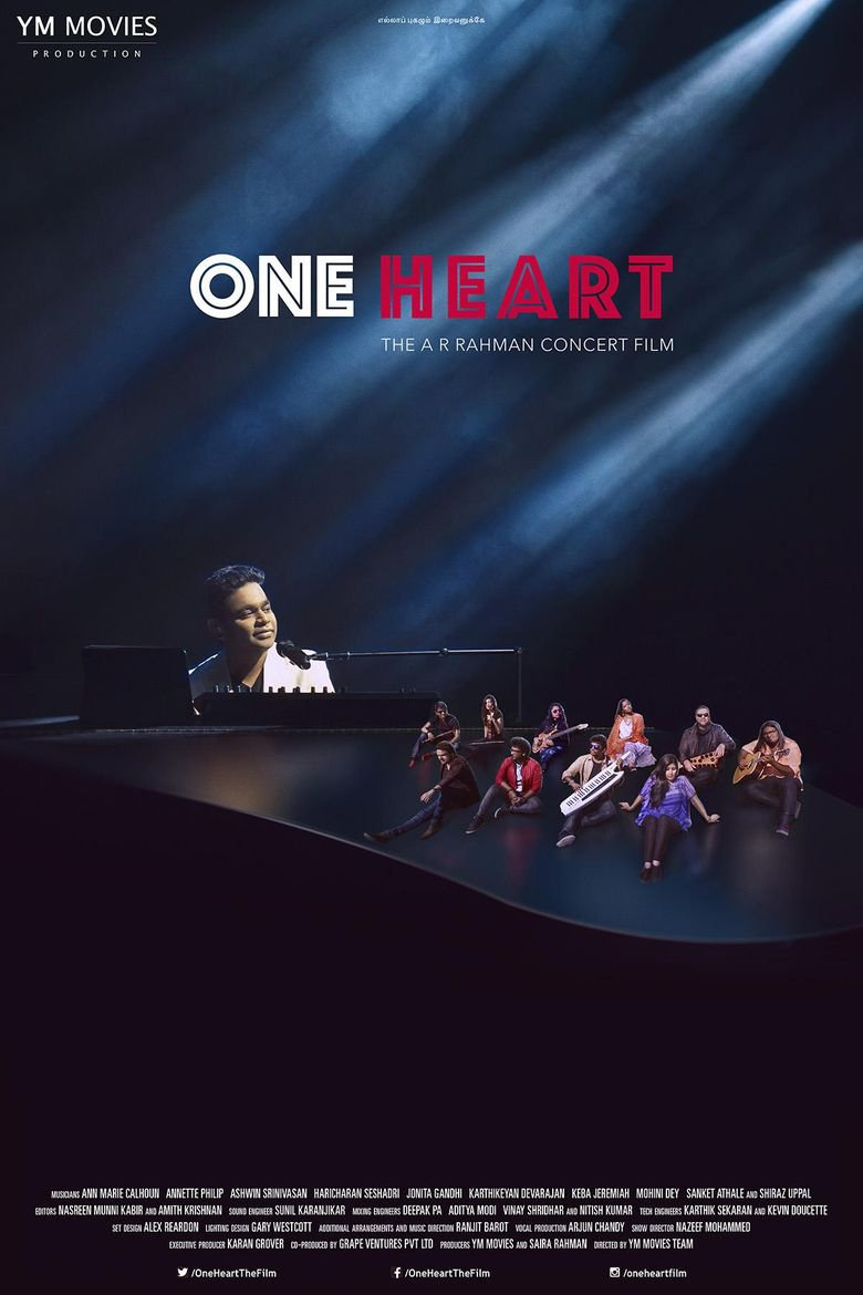 One Heart: The A.R. Rahman Concert Film Poster