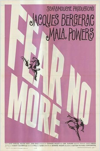 Fear No More Poster