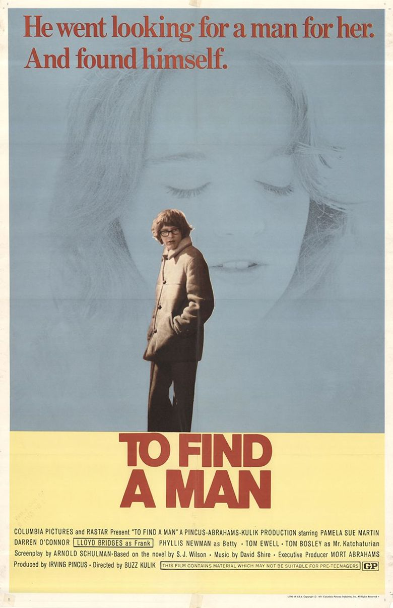 To Find a Man Poster