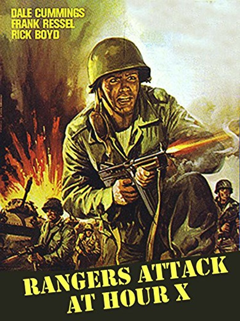 Rangers Attack at Hour X Poster