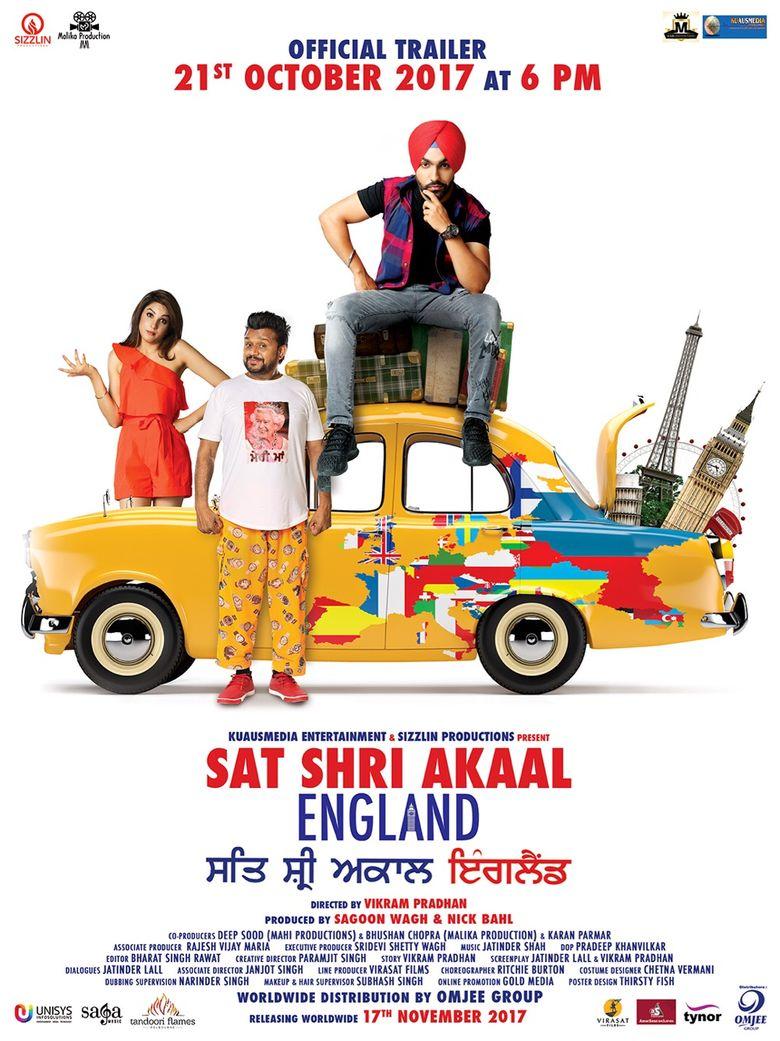 Sat Shri Akaal England Poster