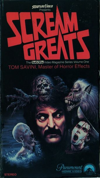 Scream Greats, Vol.1: Tom Savini, Master of Horror Effects Poster