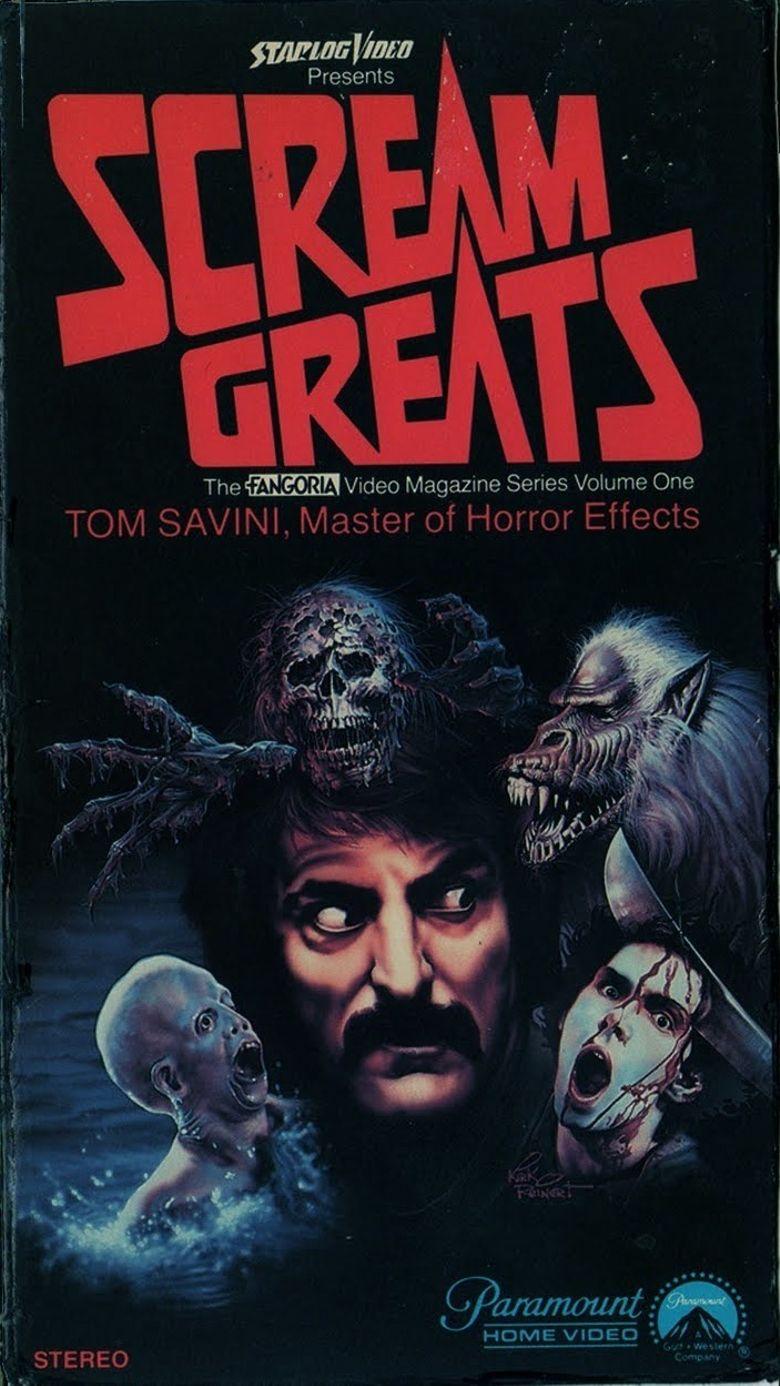 Scream Greats, Vol.1: Tom Savini, Master of Horror Effects Poster