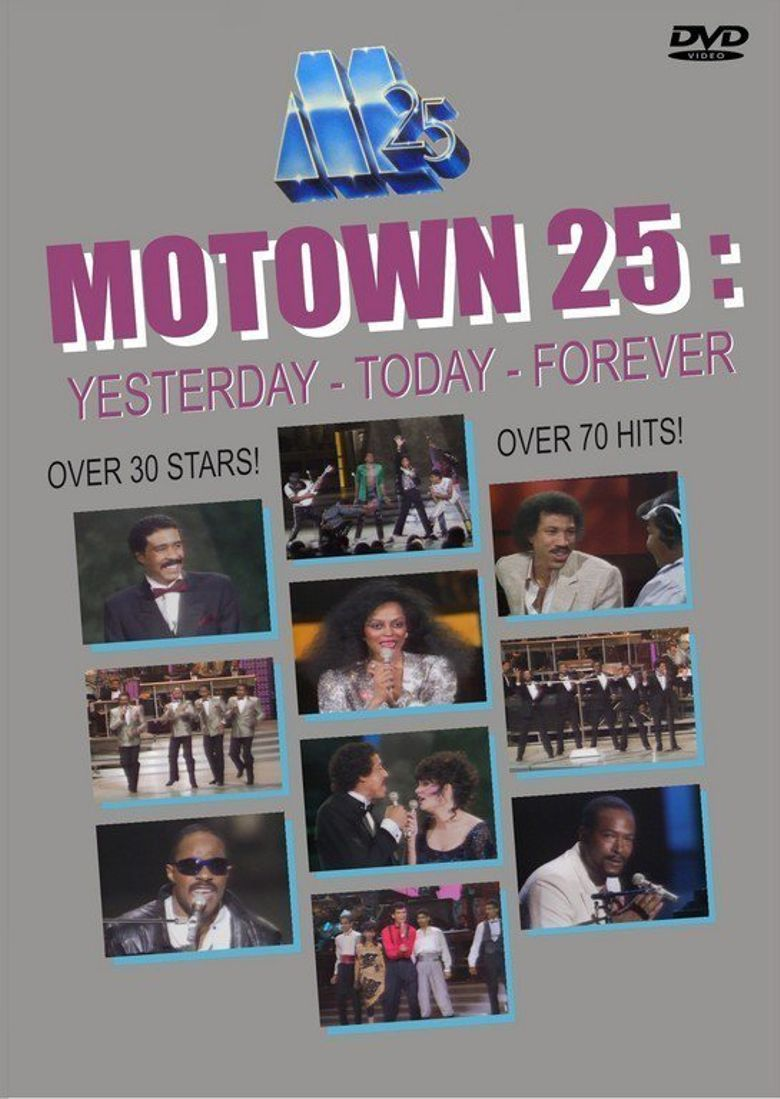 Motown 25: Yesterday, Today, Forever Poster