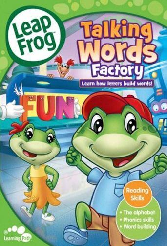 LeapFrog: Talking Words Factory Poster