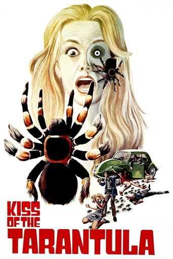 Kiss of the Tarantula Poster