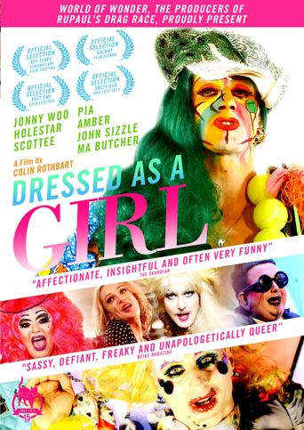 Dressed as a Girl Poster