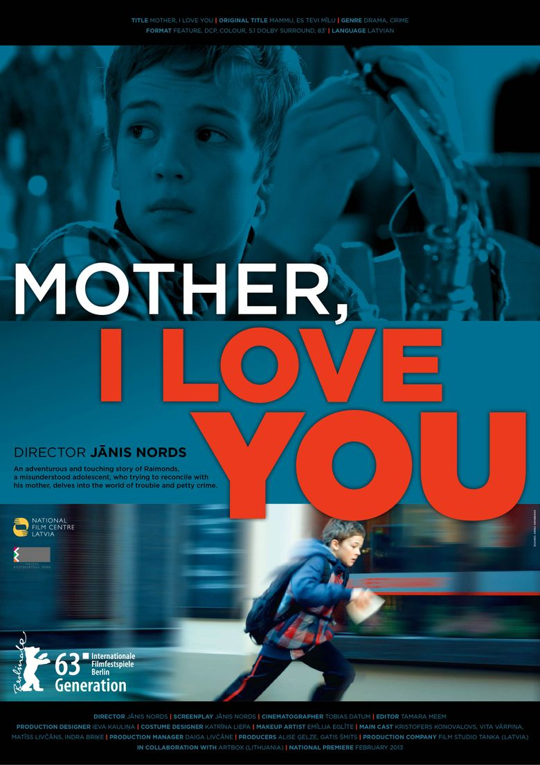 Mother, I Love You Poster