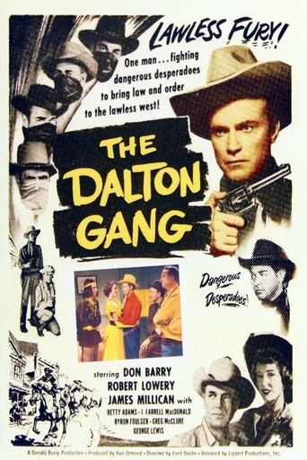 The Dalton Gang Poster