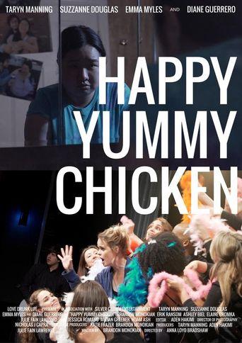 Happy Yummy Chicken Poster