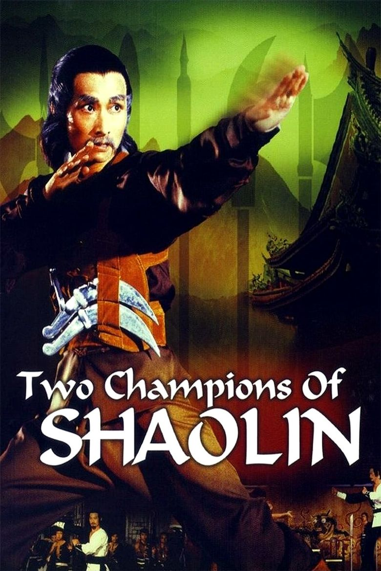 Two Champions of Shaolin Poster