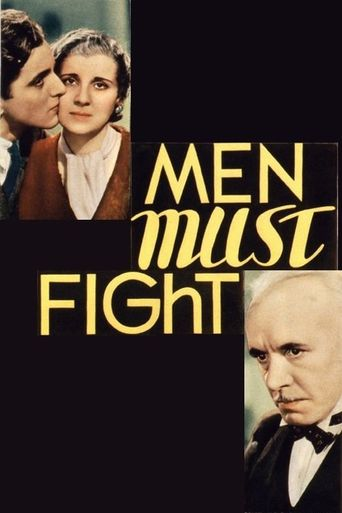 Men Must Fight Poster