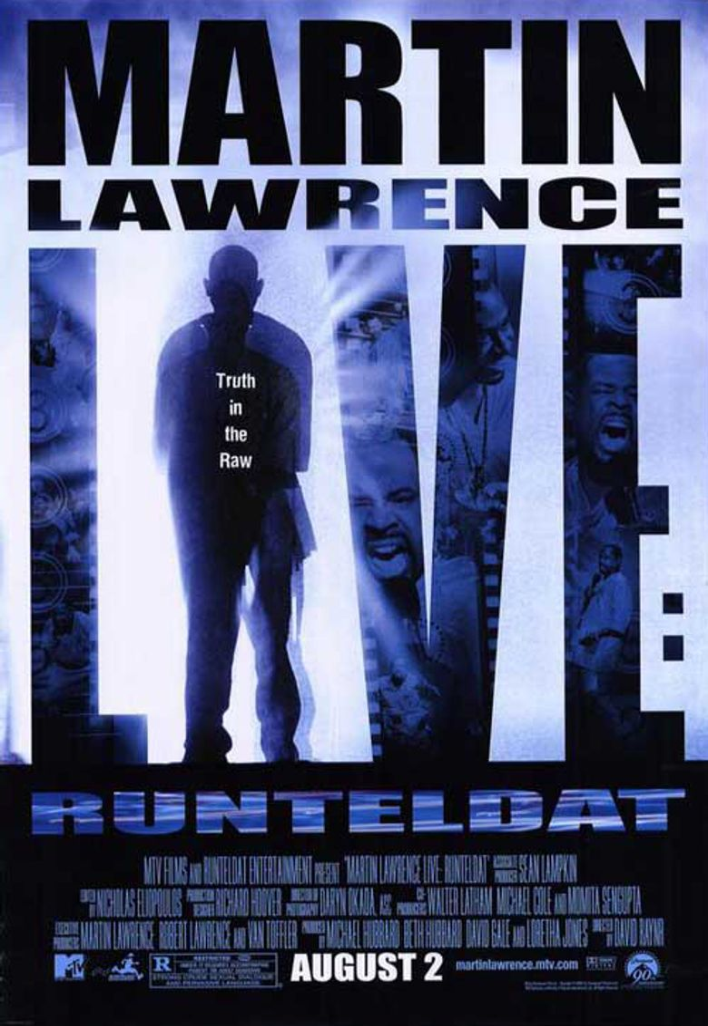 Martin Lawrence Live: Runteldat Poster