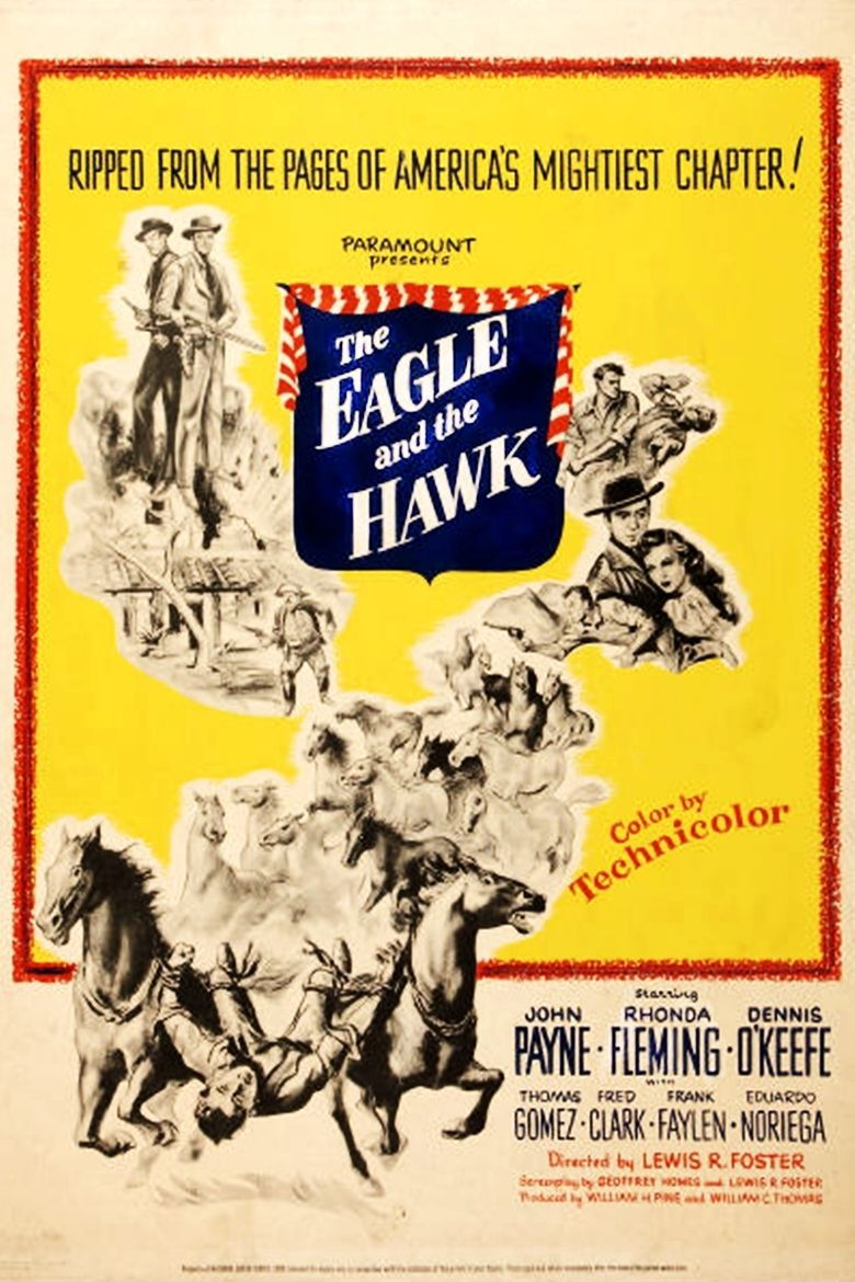 The Eagle and the Hawk Poster