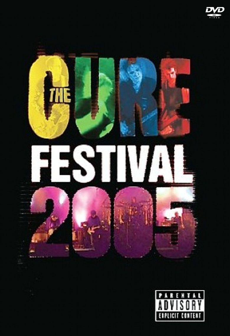 The Cure: Festival 2005 Poster