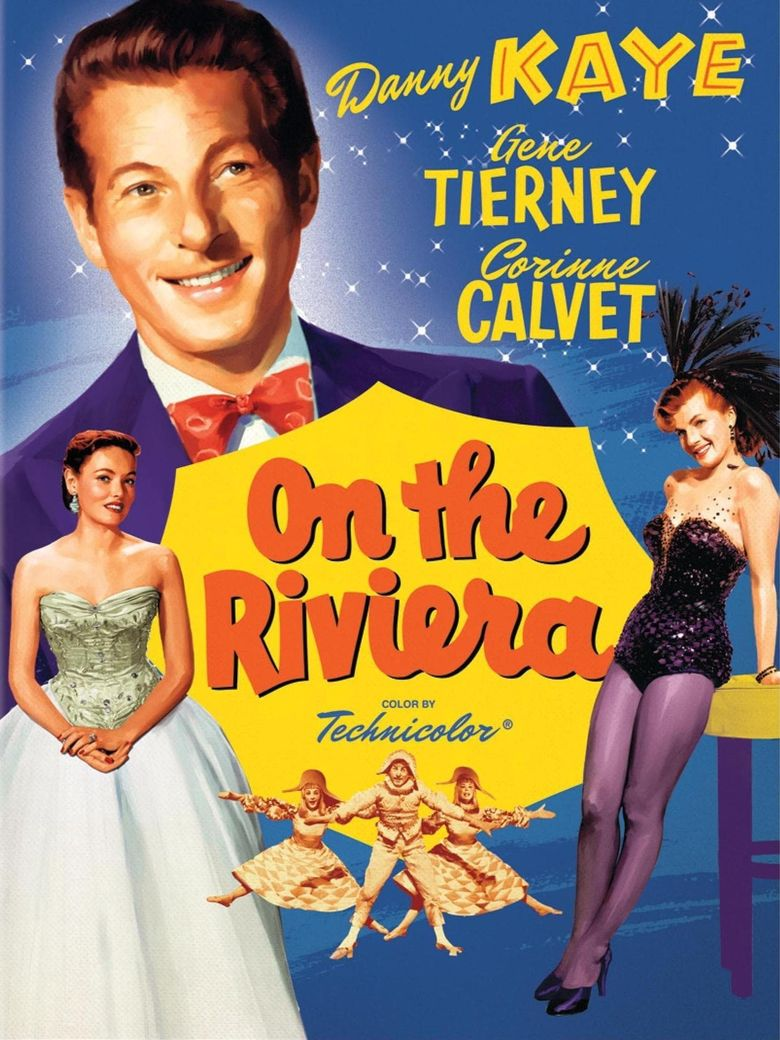 On the Riviera Poster