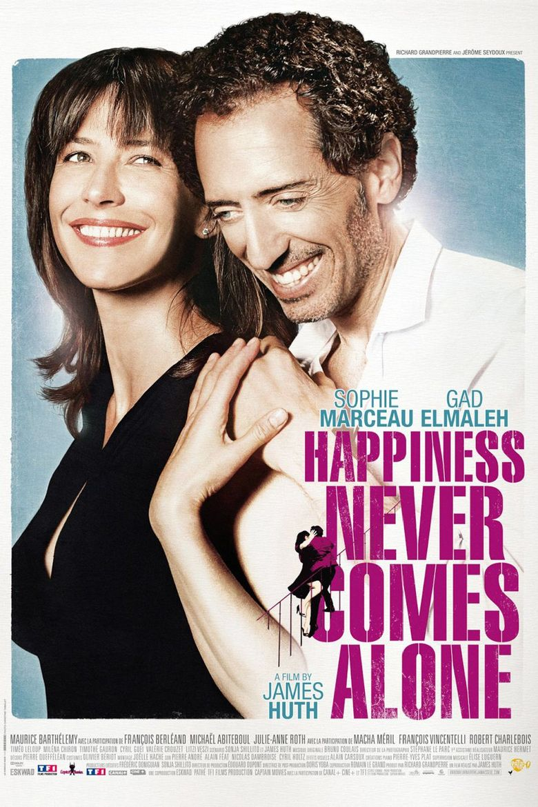 Happiness Never Comes Alone Poster