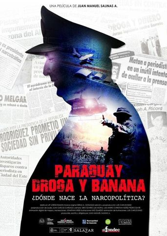 Paraguay, Drugs and Banana Poster