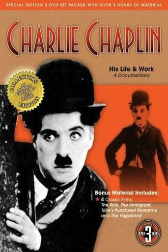 Charlie Chaplin: His Life & Work Poster
