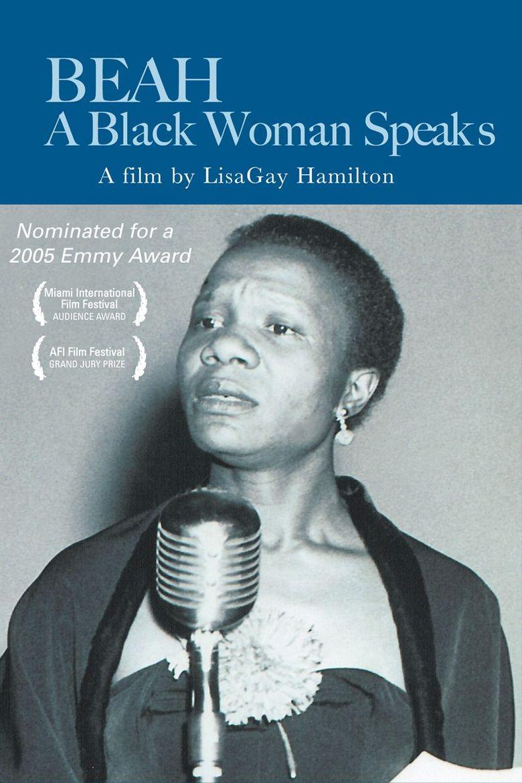 Beah: A Black Woman Speaks Poster