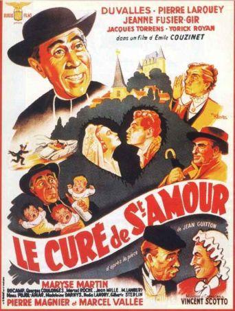 Le curé de Saint-Amour Poster