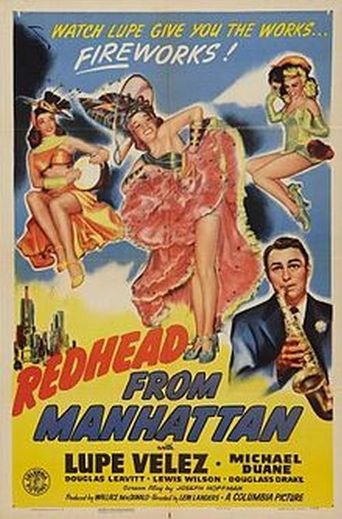 Redhead from Manhattan Poster