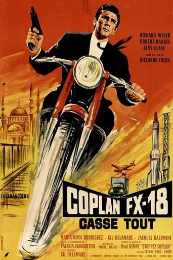 Coplan FX-18 Casse Tout Poster