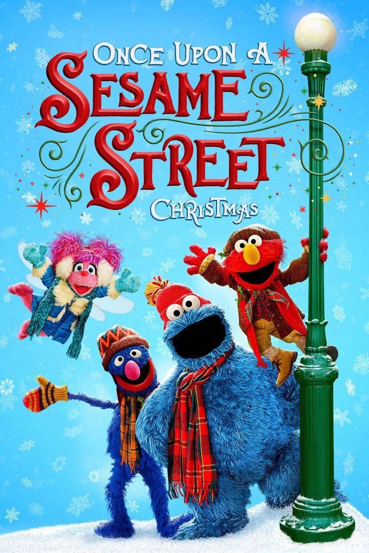 Once Upon a Sesame Street Christmas Poster