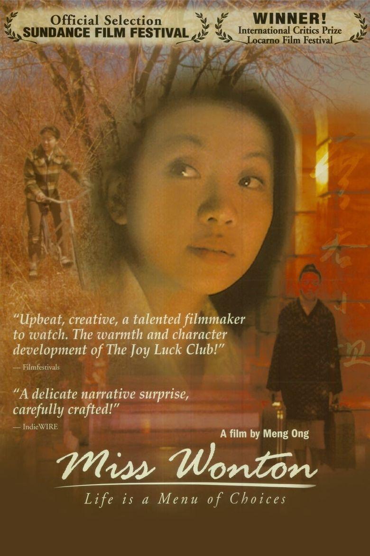 Miss Wonton Poster