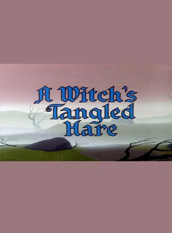 A Witch's Tangled Hare Poster