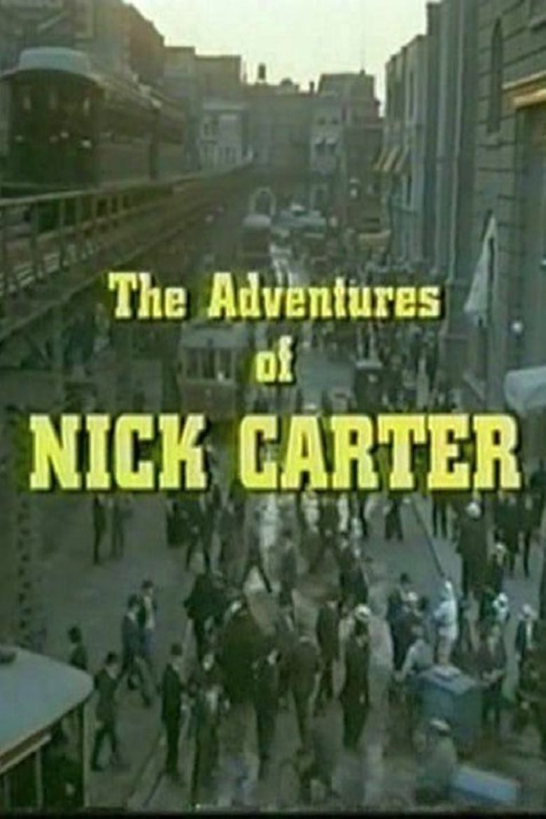 The Adventures of Nick Carter Poster
