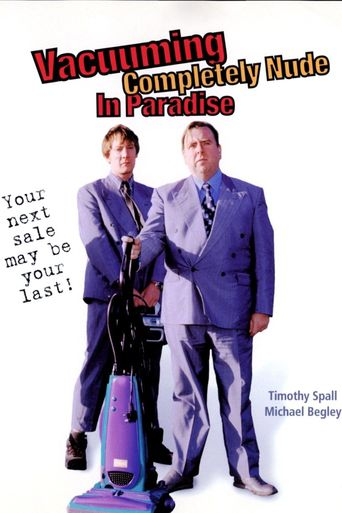 Vacuuming Completely Nude in Paradise Poster