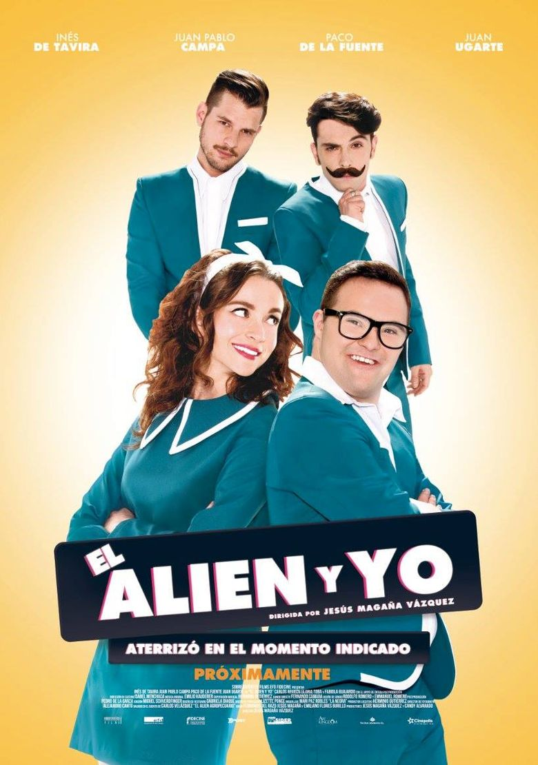 The Alien and Me Poster