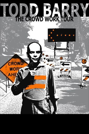 Todd Barry: The Crowd Work Tour Poster