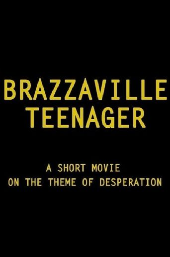 Brazzaville Teen-Ager Poster