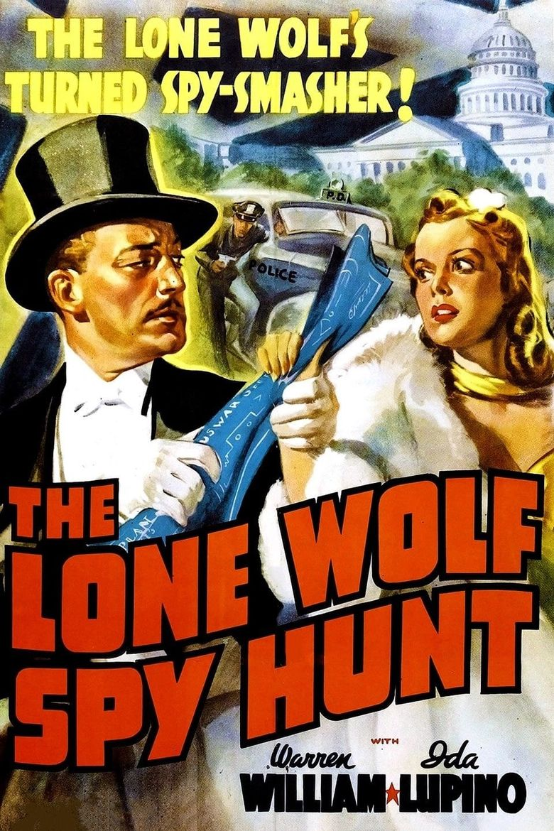 The Lone Wolf Spy Hunt Poster