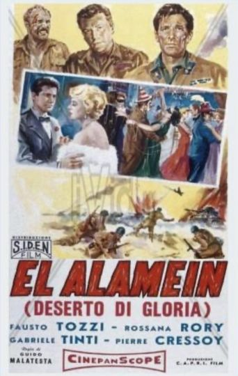 The Tanks of El Alamein Poster