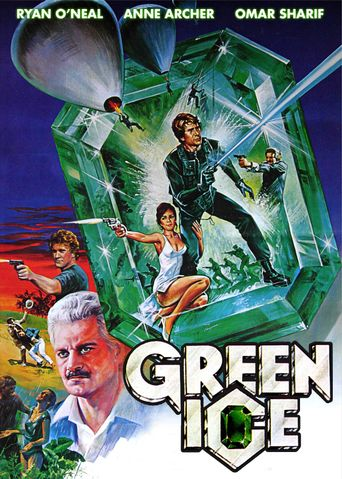 Green Ice Poster