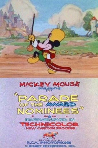 Parade of the Award Nominees Poster