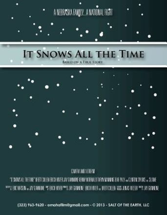 It Snows All the Time Poster